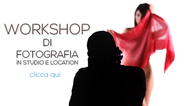 Workshop di fotografia in studio e location
